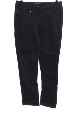 Woman by Tchibo Jeansy z prostymi nogawkami czarny W stylu casual