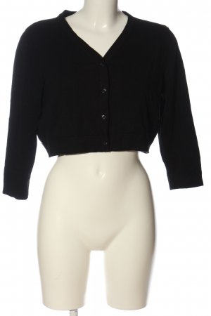 Woman by Tchibo Knitted Bolero black casual look