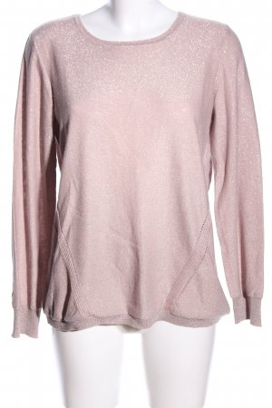 Woman by Tchibo Strickpullover pink meliert Casual-Look