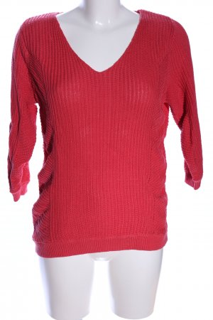 Woman by Tchibo Strickpullover rot Casual-Look