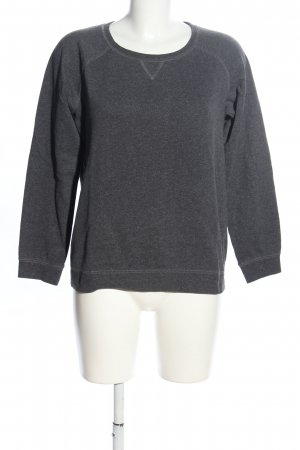 Woman by Tchibo Sweatshirt hellgrau meliert Casual-Look