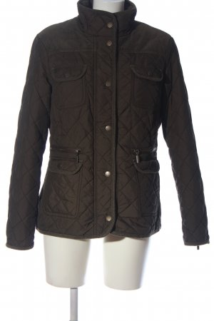 Woman by Tchibo Übergangsjacke braun Steppmuster Casual-Look