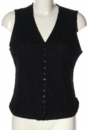 Woman Collection H&M Waistcoat black business style