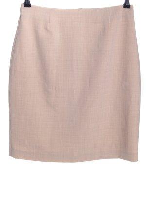 Woman Collection H&M Falda de tubo nude Patrón de tejido estilo «business»