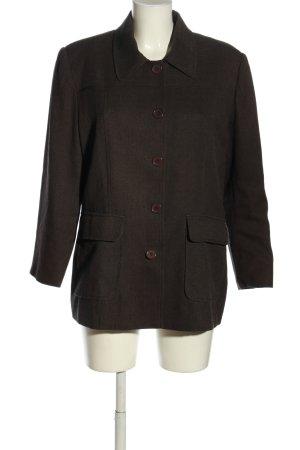 Woman Collection H&M Kurz-Blazer braun Casual-Look