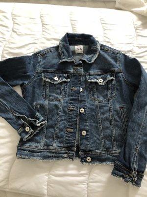 woman denim jacket
