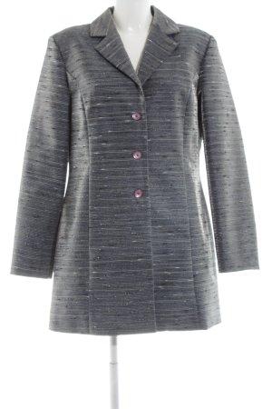 Woman's Fashion Übergangsmantel hellgrau-silberfarben meliert Casual-Look