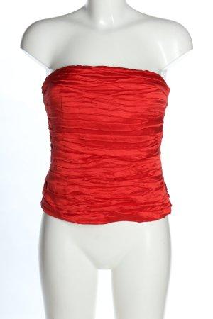 Woman Uta Raasch Corpiño rojo elegante