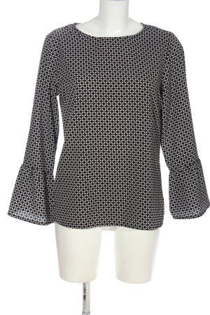 women essentials by Tchibo Camicetta a maniche lunghe nero-bianco