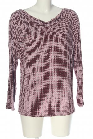 women essentials by Tchibo Longsleeve pink-rot Allover-Druck Casual-Look