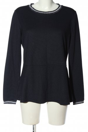 women essentials by Tchibo Strickshirt blau-weiß Streifenmuster Casual-Look