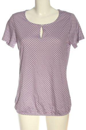 women essentials by Tchibo T-Shirt pink-weiß Allover-Druck Casual-Look