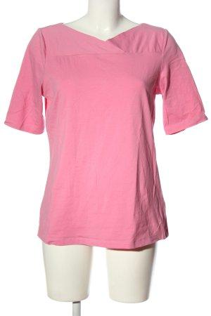 women essentials by Tchibo V-Ausschnitt-Shirt pink Casual-Look
