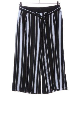 women limited by tchibo Baggy broek zwart-wit gestreept patroon