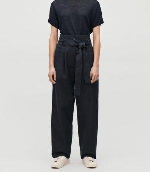 COS Baggy broek donkerblauw