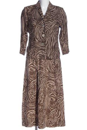 Women's Dress Concept Dzianinowy podwójny zestaw  Abstrakcyjny wzór