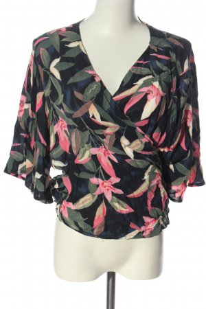 Women's Secret Wraparound Blouse allover print elegant