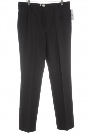 Women's Selection Bundfaltenhose schwarz Business-Look
