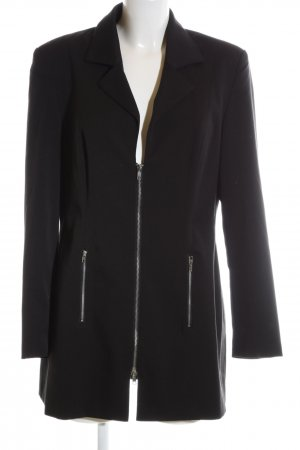 Women's Selection Long-Blazer schwarz Business-Look