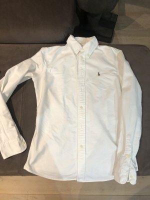 Ralph Lauren Blouse en jean blanc