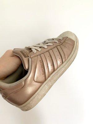 Women superstar sneaker gold