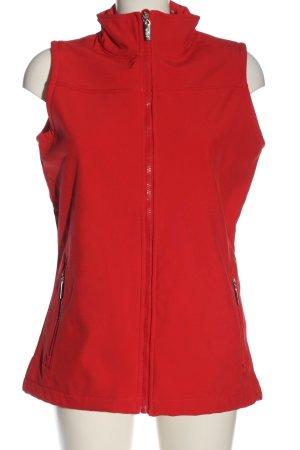 Womenwear by wind Chaleco deportivo rojo look casual