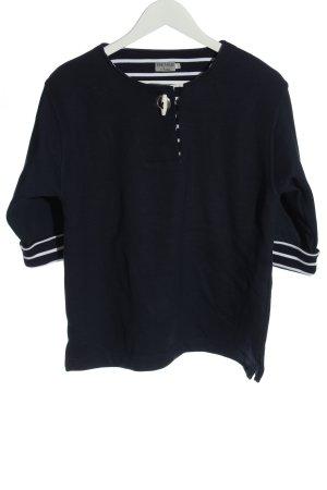 Womenwear by wind Strickshirt blau Casual-Look