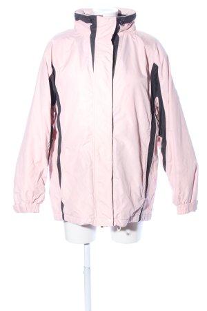 Veste d'extérieur rose style décontracté