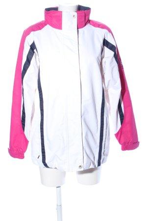 Veste d'extérieur motif rayé style décontracté