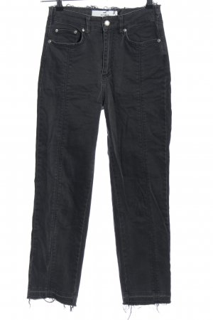 Won Hundred Boot Cut Jeans schwarz Casual-Look