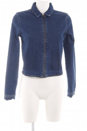 Won Hundred Jeansjacke blau Casual-Look