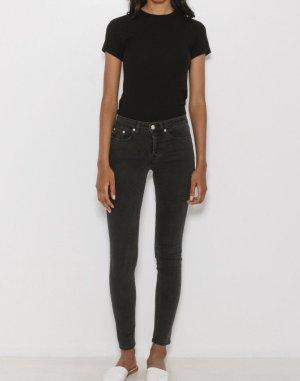 Won Hundred Skinny Patti Jeans schwarz/grau Minimalistisch Clean Chic Cosy Blogger Skandinavisch