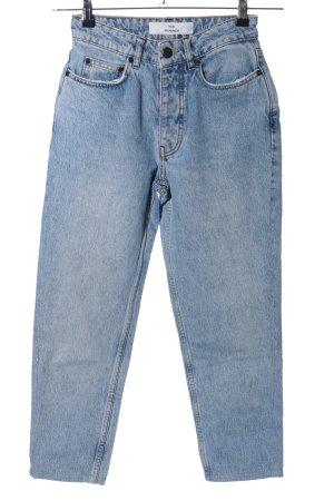 Won Hundred Straight-Leg Jeans blau Casual-Look