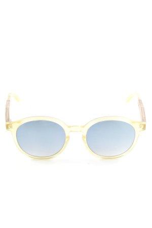 Wood Fellas ovale Sonnenbrille mehrfarbig Casual-Look