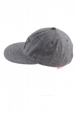 Wood Wood Basecap hellgrau grafisches Muster Casual-Look