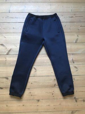 Wood Wood Pantalon taille basse bleu foncé