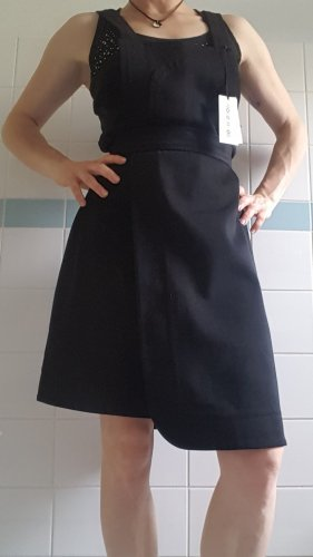 Wood Wood Pinafore Overall Skirt black
