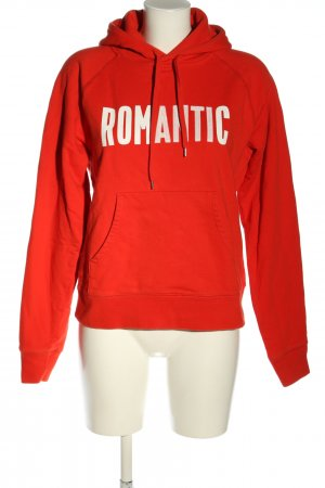 Wood Wood Kapuzensweatshirt rot Casual-Look
