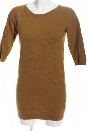 Wood Wood Long Sweater brown flecked casual look