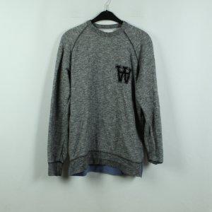 Wood Wood Sweat Shirt grey-light grey cotton