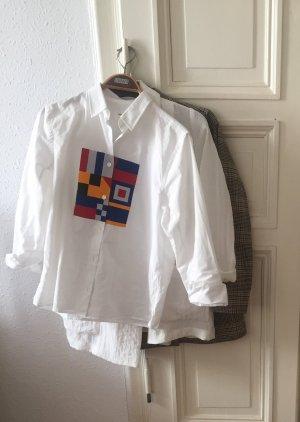 WoodWood Hemd mit 80er Print in top Zustand