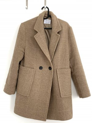 Zara Wool Coat beige