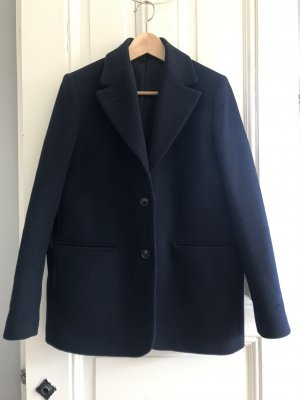 & other stories Wool Blazer dark blue