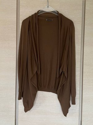Bruno Manetti Knitted Cardigan light brown-camel