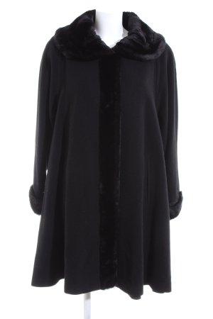 Wool & Cashmere Daunenmantel schwarz Casual-Look