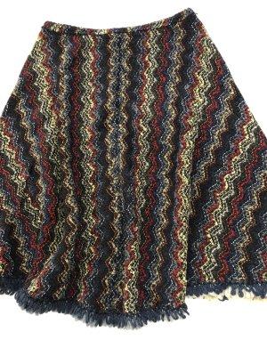 Wool pancho
