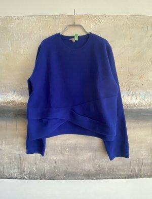 COS Maglione di lana blu