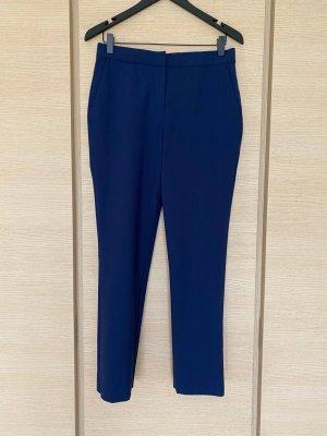 Diane von Furstenberg Pantalón de lana azul