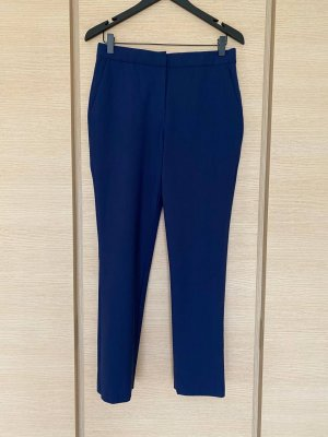 Diane von Furstenberg Pantalon en laine bleu