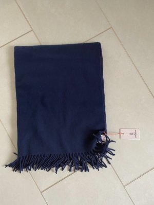 Beck Söndergaard Bufanda de lana azul oscuro